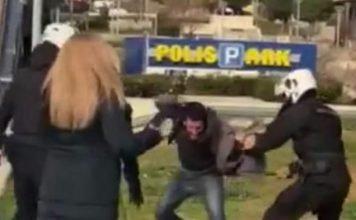 αστυνομική-βία-συγκέντρωση-διαμαρτυ