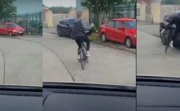 θεία-δίκη-ποδηλάτης-βρίζει-οδηγό-και